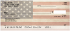 Antique US Flag Personal Checks | CCS-16