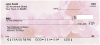 Blossoms In Pink and Blue Personal Checks | FLO-06
