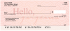 Hello, Gorgeous Personal Checks | LOV-21