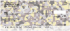 Colorful Camo Personal Checks | MIL-54