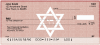 Star of David Checks | REL-45
