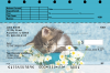 Cute Kittens Top Stub Personal Checks | TSANI-06