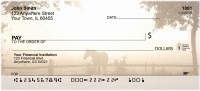 Horses in the Mist Personal Checks | CCS-61
