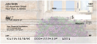 Window Flowers Personal Checks | CCS-74