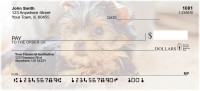 Yorkies Personal Checks | DOG-57