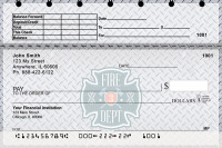 Firefighter Badges Top Stub Personal Checks | TSPRO-53