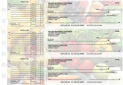 Fresh Produce Accounts Payable Designer Business Checks | BU3-CDS09-DED
