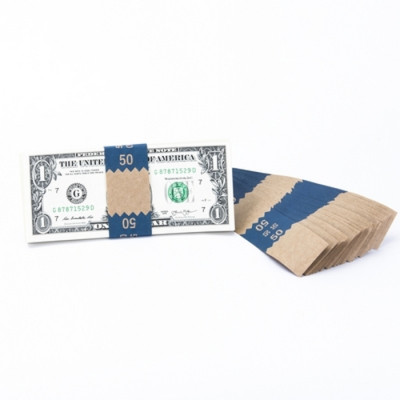 Natural Saw-Tooth $50 Currency Bands | CBKN-002
