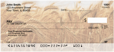 Harvest Time Personal Checks | FOD-07