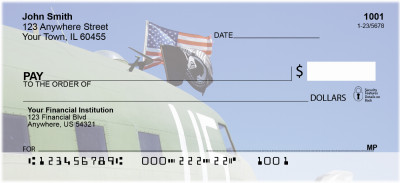 Honoring Our POW's Personal Checks | MIL-47