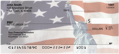 Lady Liberty Personal Checks | PAT-04