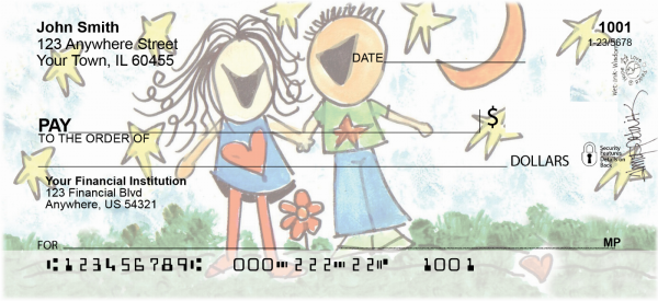 Love Personal Checks by Amy S. Petrik | AMY-03