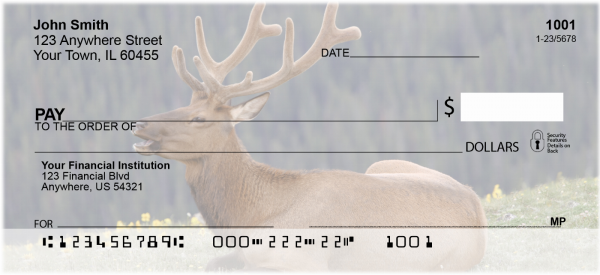 More Elk Personal Checks | ANI-23