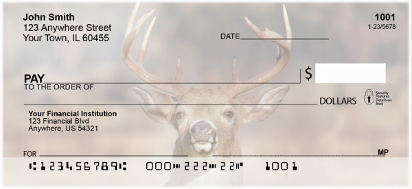 Big Horned Buck Deer Checks | ANK-71