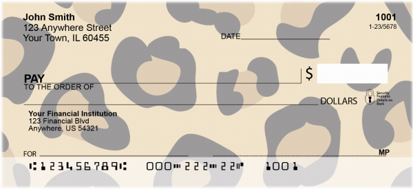 Safari Prints Personal Checks | CCS-02