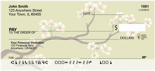 Cherry Blossoms Personal Checks | CCS-05