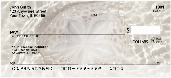 Sea Shells Personal Checks | CCS-29