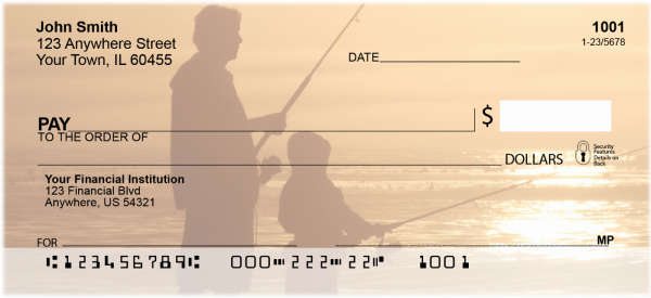 Fishing with Family Personal Checks | CCS-55