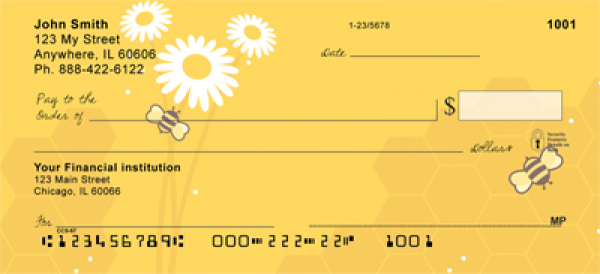 Honey Bees Personal Checks | CCS-57