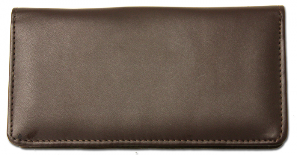 Dark Brown Smooth Leather Cover | CLP-BRN03
