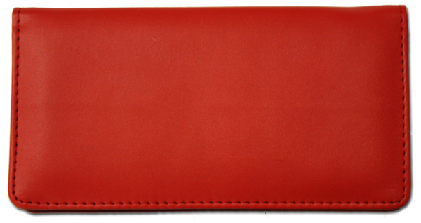 Red Smooth Leather Cover | CLP-RED02