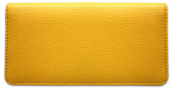Yellow Textured Leather Cover | CLP-YEL01