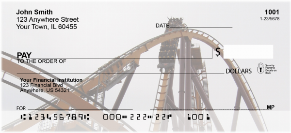 Beamers Roller Coaster Personal Checks | COA-01