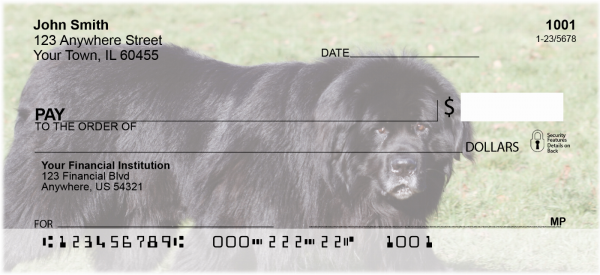 Newfoundland Personal Checks | DOG-105