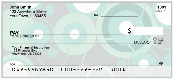Stylish Patterns Personal Checks | GEO-14