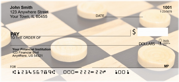 Checkers Personal Checks | GME-05