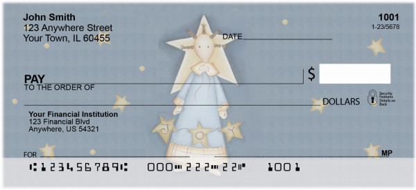 Christmas Joy Personal Checks By Lorrie Weber | JHS-23