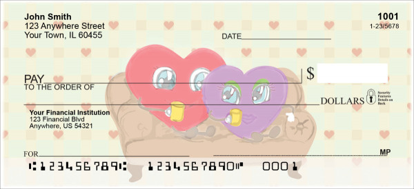 Feelin' the Love Personal Checks | LOV-19
