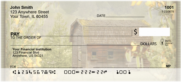 Springtime Barns Personal Checks | NAT-16