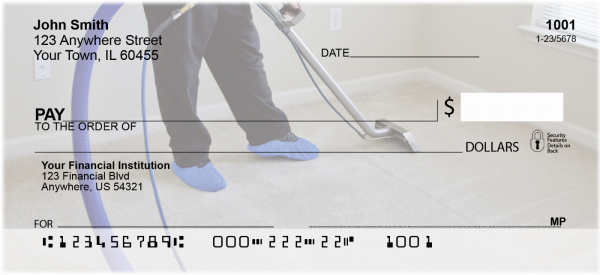 Carpet Cleaning Personal Checks | PRO-42