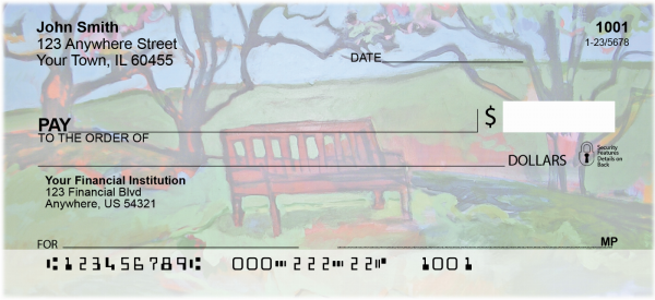 Benches Personal Checks | SCE-45