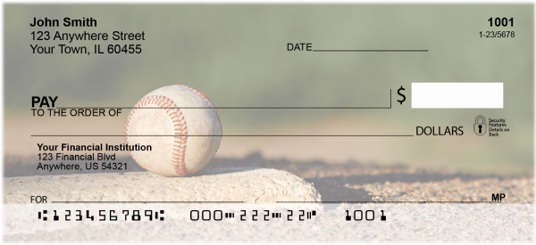 Take Me Out to the Ball Game Personal Checks | SPO-90