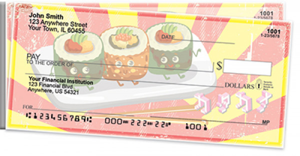 Sushi Time! Side Tear Personal Checks | STFOD-69