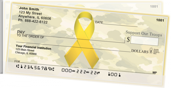 Support Our Troops Ribbon | STMIL-89