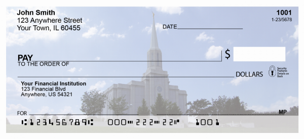 St. Louis Temple Personal Checks | TEM-17