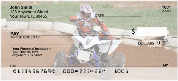 ATV Dirt Racing Checks | TRA-12