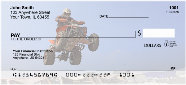 ATV Racing Personal Checks | TRA-B2