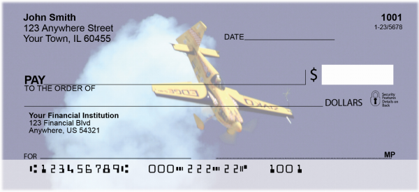 High Flying Stunt Plane Personal Checks | TRA-B3