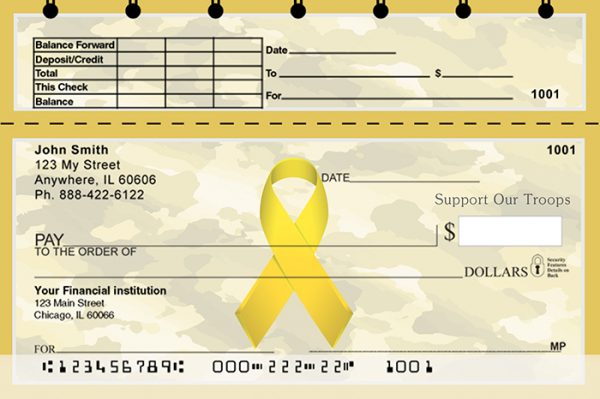 Support Our Troops Ribbon | TSMIL-89