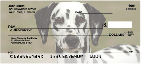 Cherished Dalmations Checks