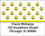 Smiley Face Address Labels