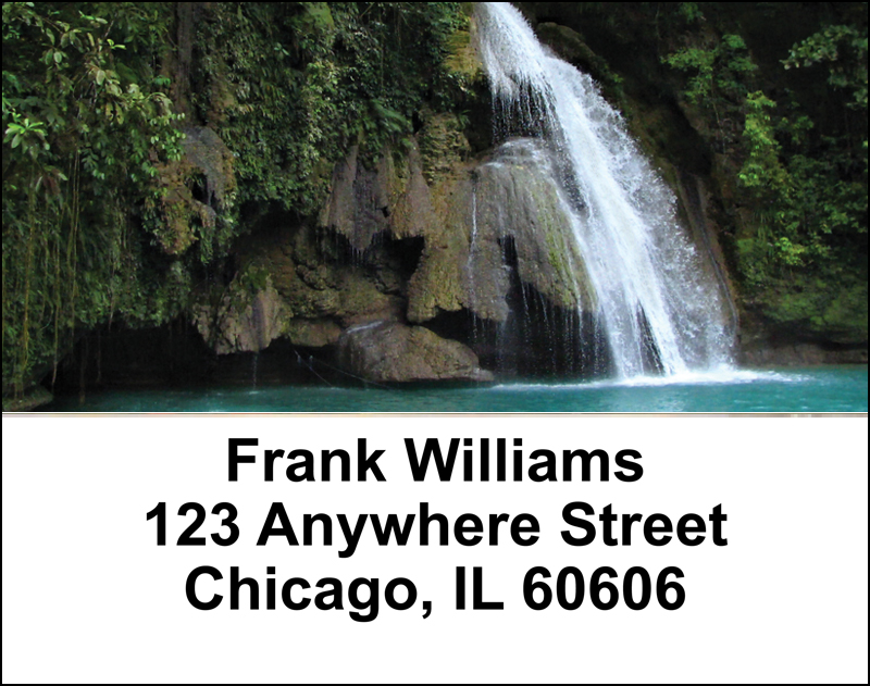 Cascading Waterfalls   Address Labels